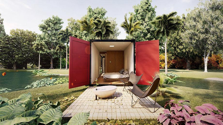 Arquitetura Contenporânea em Container