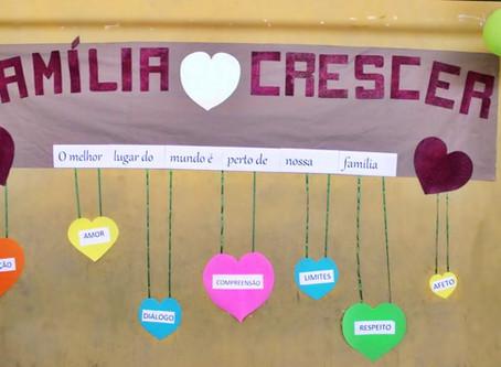 Evento especial reúne familiares e alunos no Projeto Crescer