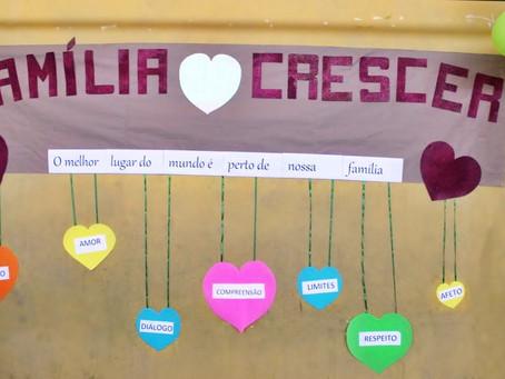 Evento especial reúne familiares e alunos no Crescer