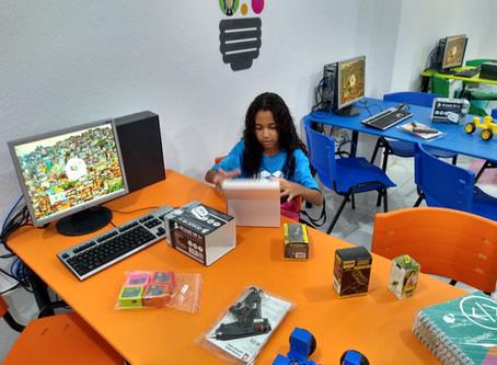 Primeiro Laboratório de Robótica de Lauro de Freitas é inaugurado no Projeto Crescer.