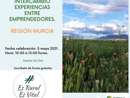 Intercambio Experiencias: Emprendedores Rurales, Región Murcia.