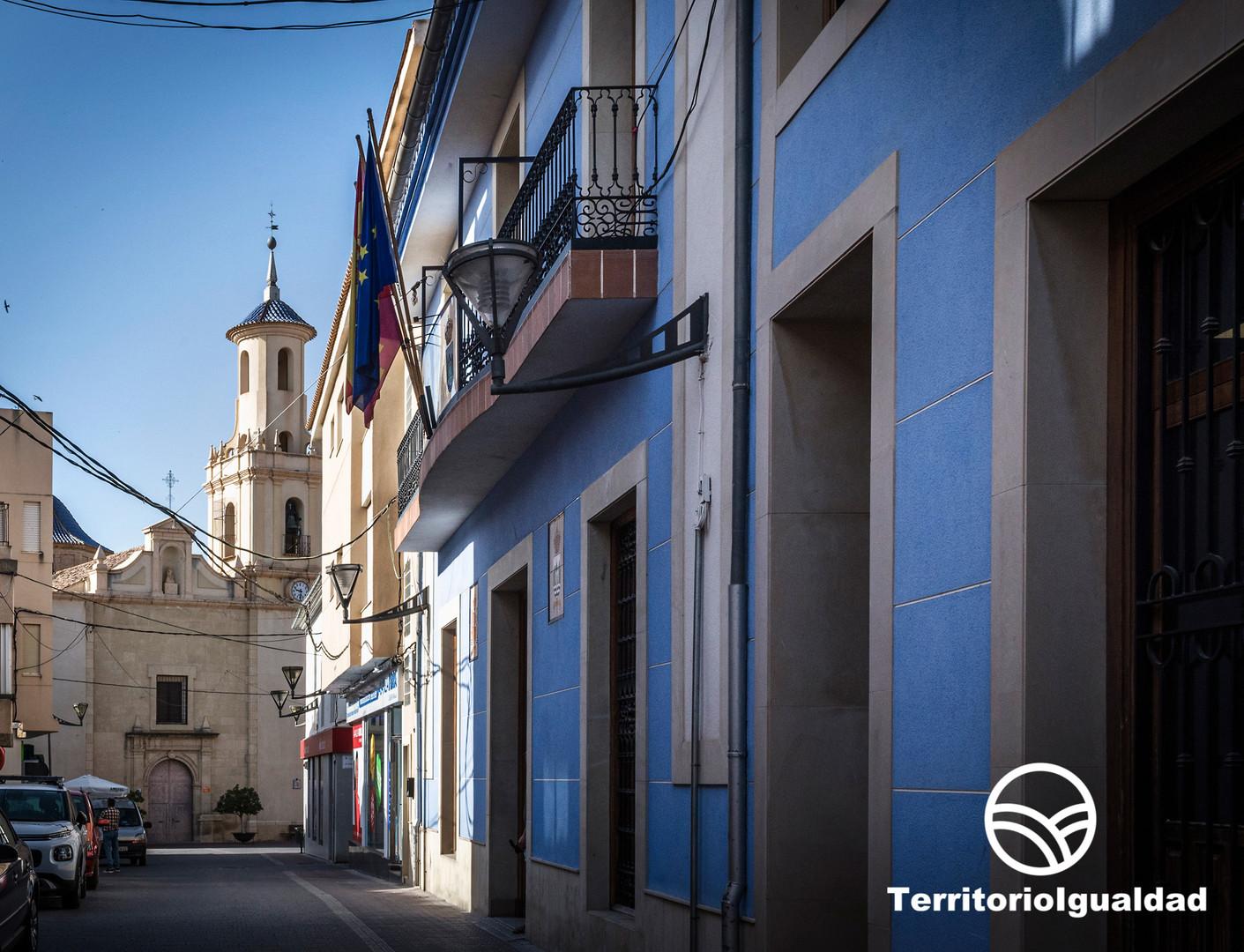 Fortuna. Calle del Ayuntamiento Fortuna.jpg