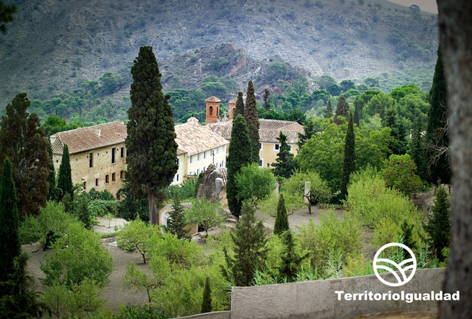Jumilla. Monasterio de Santa Ana del Monte.