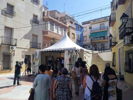 Inauguración en Abanilla, Encuentros 2021, Mujer Rural.