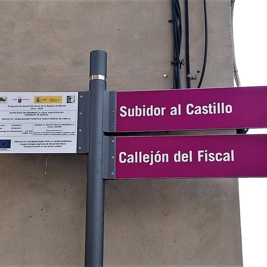 SEÑALIZACIÓN TURÍSTICA CASCO URBANO