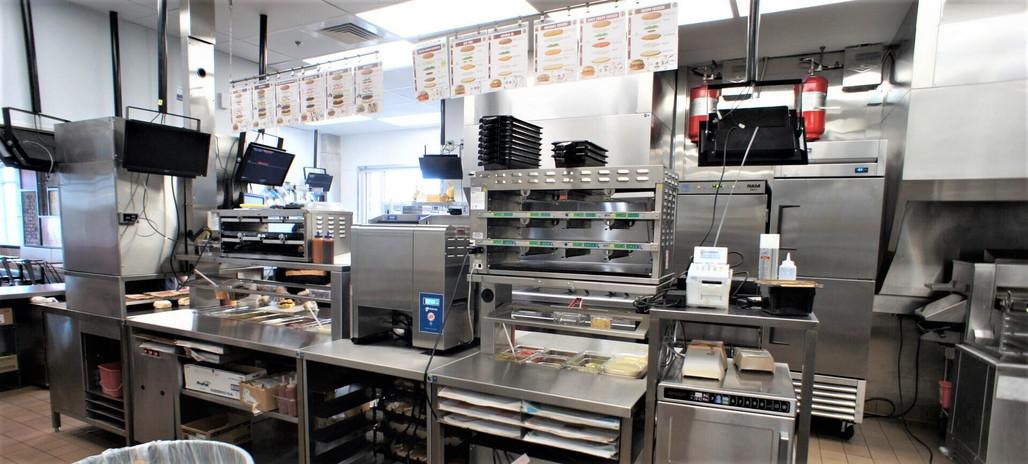 Burger King Kitchen