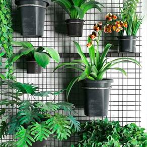 Ideias para montar um jardim vertical em casa