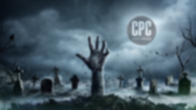 halloween couverture facebook logo rond