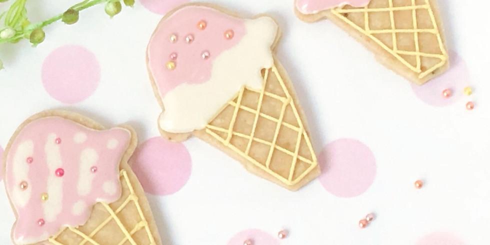 【お菓子部】『 アレルギっ子でも大丈夫!可愛いアイシングクッキー作り!』