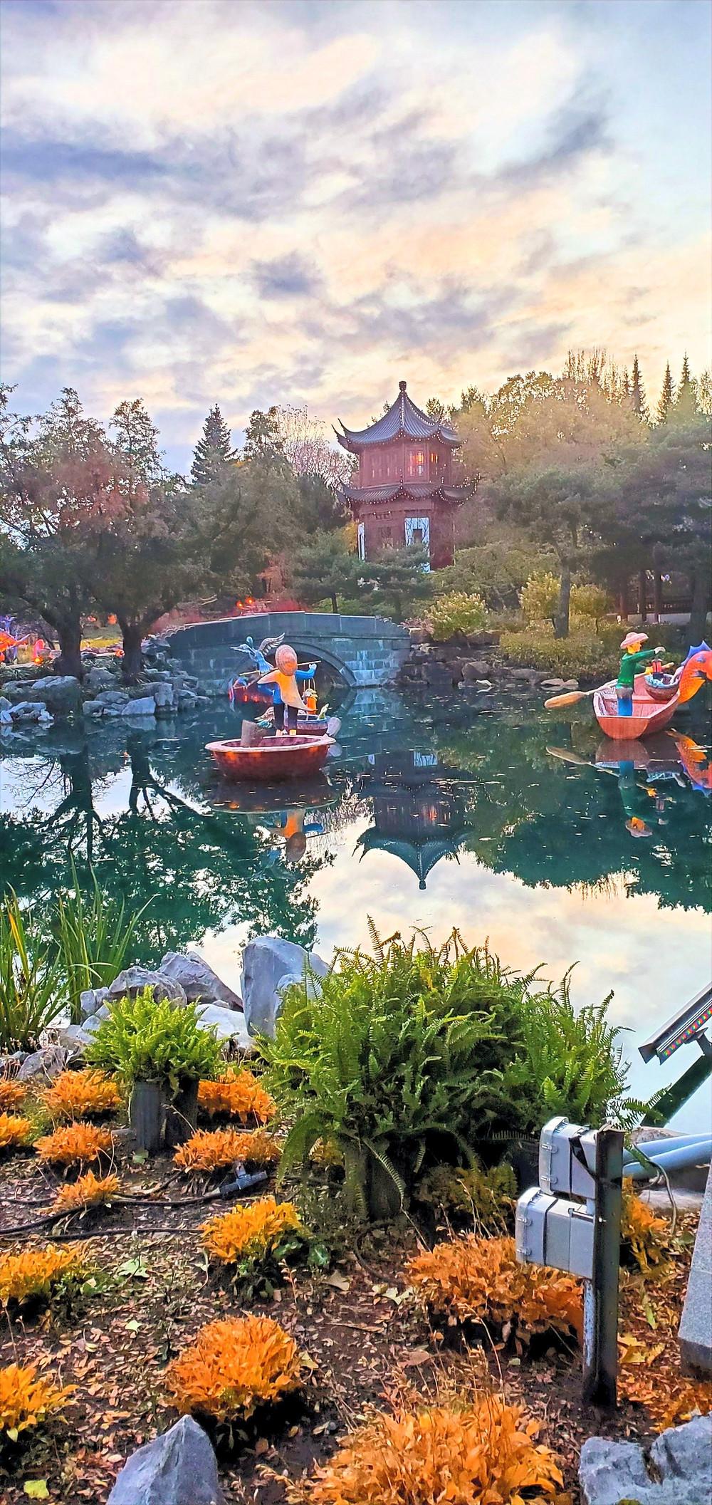 Japaness garden