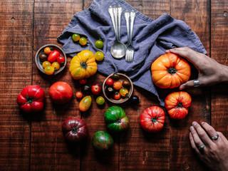 Quinoa & Heirloom Tomato Bowl