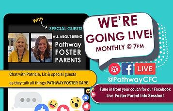 facebook live foster parent info session