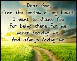 God Thank YOu
