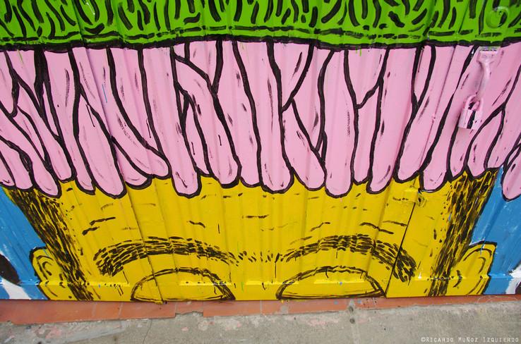 Detail - Puerta, Sala Estrecha - Cicuta Teatro Calle 16 n. 12-40 - Pereira, Risaralda - 2013