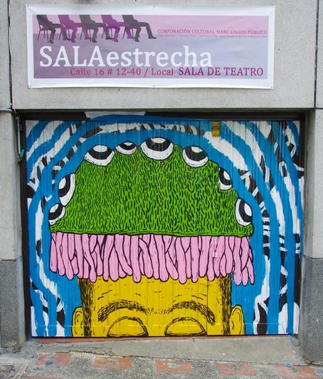 Puerta, Sala Estrecha - Cicuta Teatro Calle 16 n. 12-40 - Pereira, Risaralda - 2013