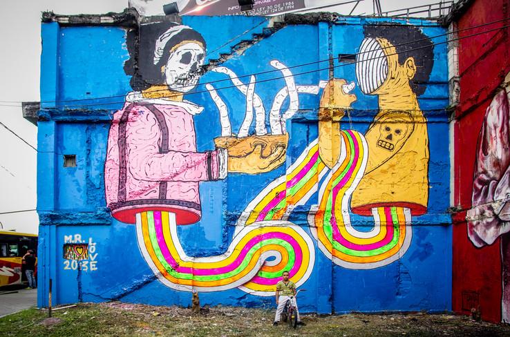 2013 - Pereira, Colombia - via viaducto-Avenida Ferrocarril