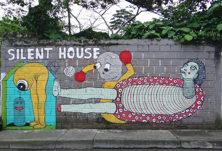SILENT HOUSE -Cra 11 con Cll 24 - Pereira, Risaralda - 2013