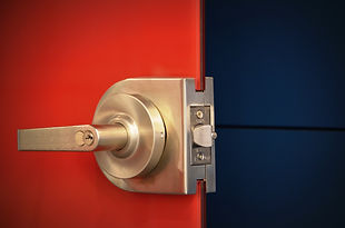 laminated color interlayer glass door