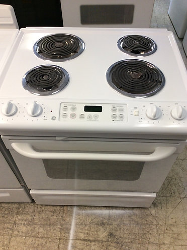 Ge slide in stove