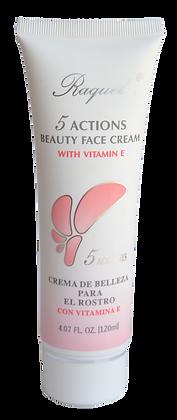 Crema 5 acciones con vitamina E