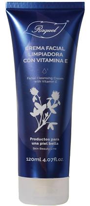 Crema Facial Limpiadora con vitamina E