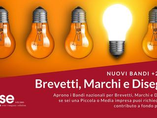 Contributi per Brevetti, Marchi e Disegni: riapertura bandi 2021