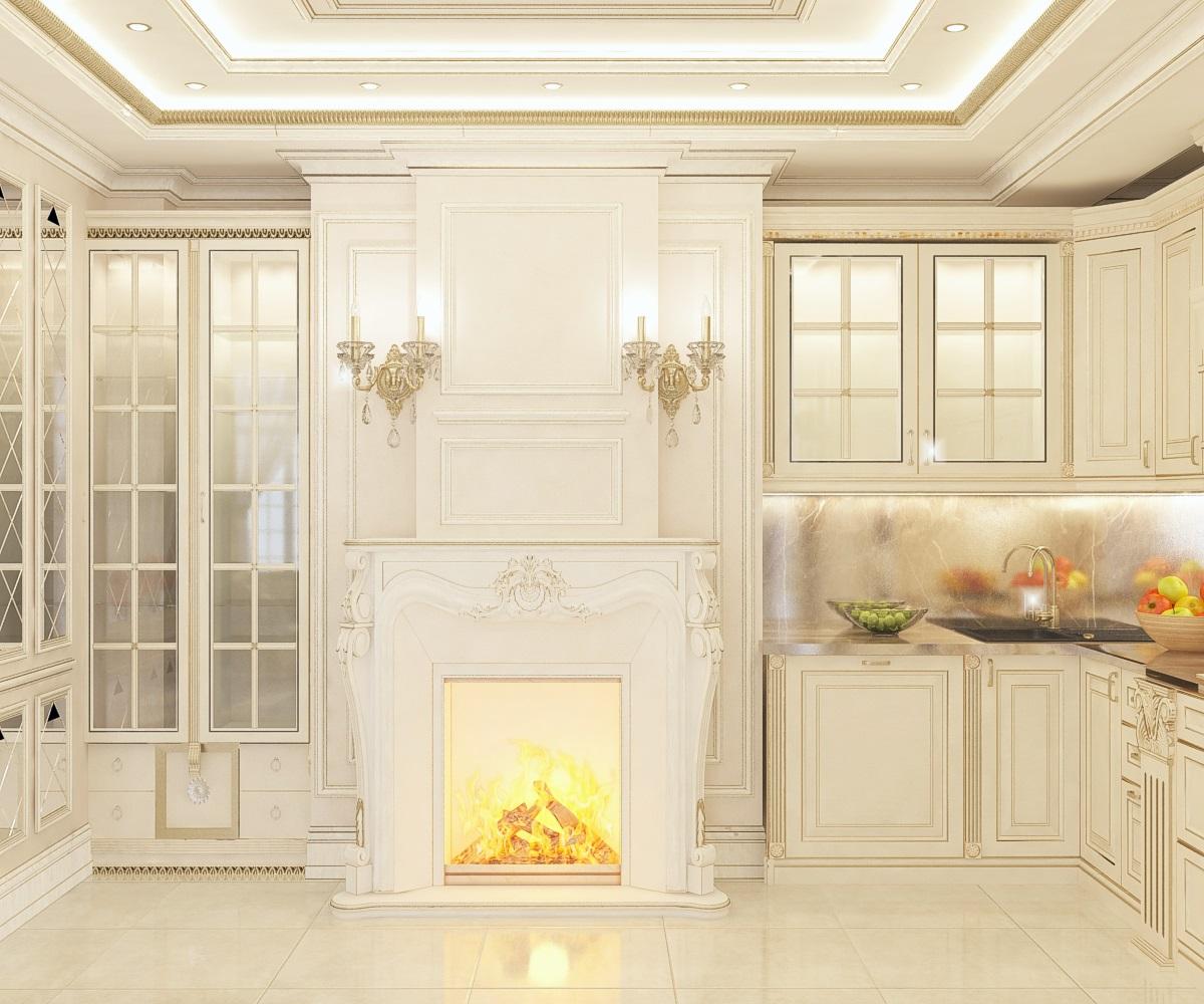 дизайн кухни-гостиной (г.Черкесск)