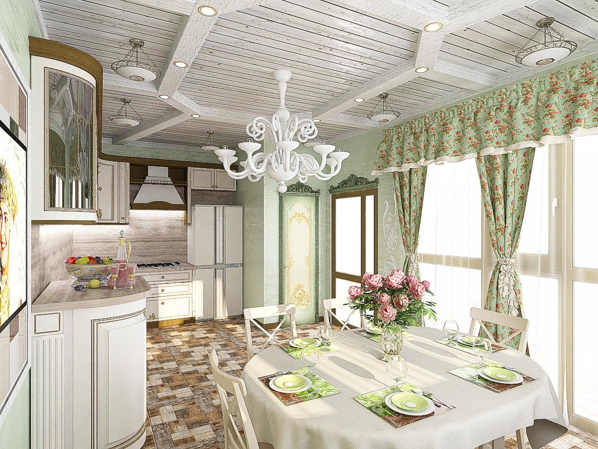 дизайн летней кухни