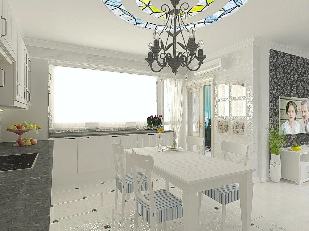 дизайн кухни-гостиной3