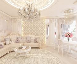 гостиная в частном домовладении