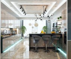кухня частном домовладении