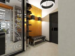 дизайн кухни-гостиной 12