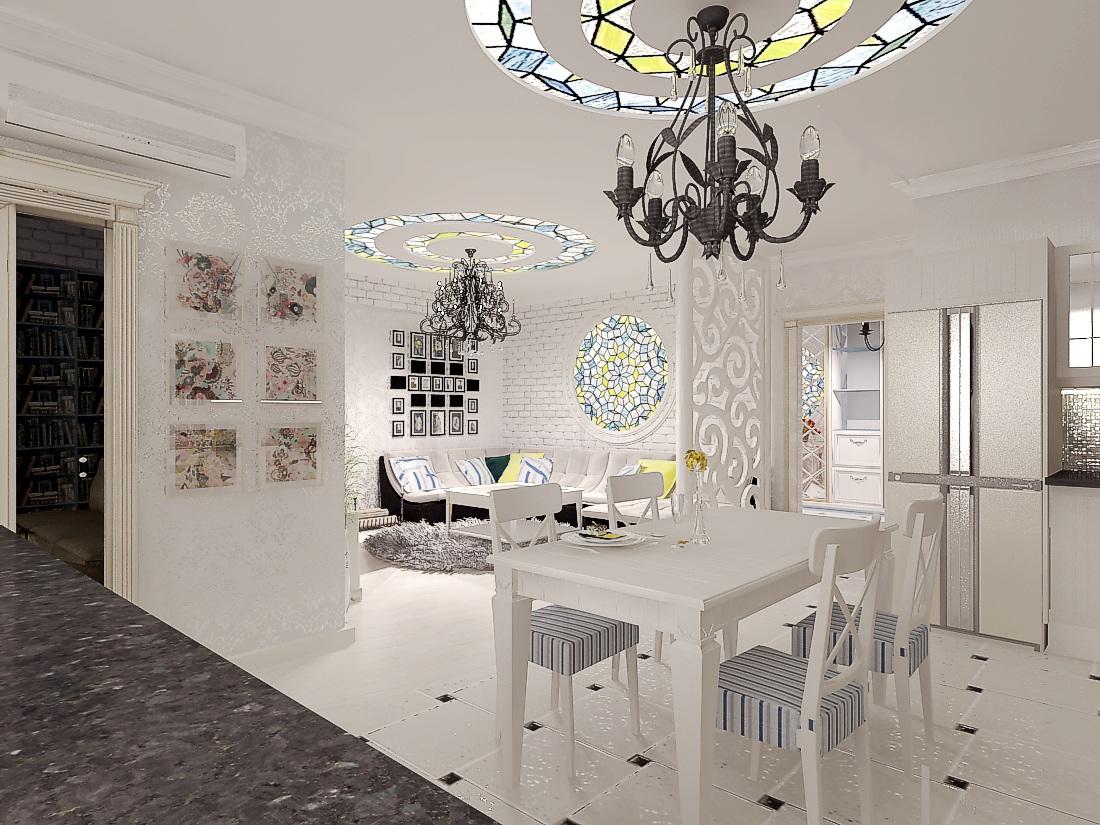 дизайн кухни-гостиной6