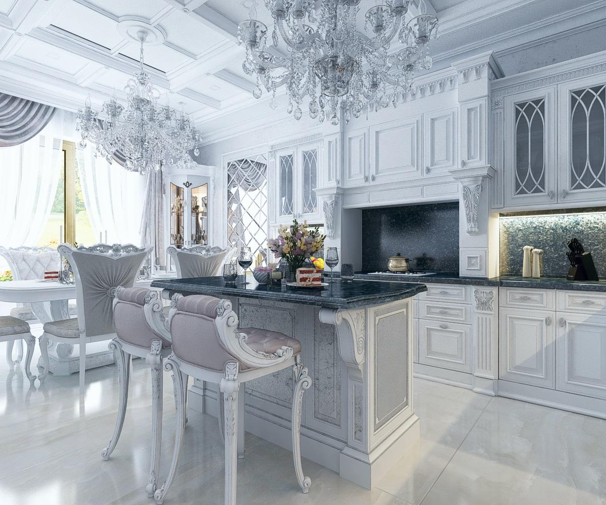 Кухня в частном домовладении
