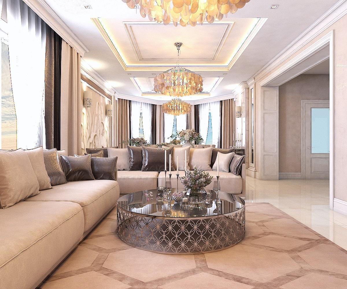 Дизайн гостиной (г.Ставрополь)