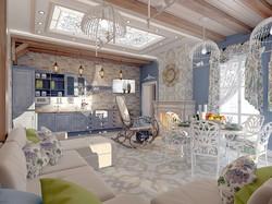 дизайн гостевого домика