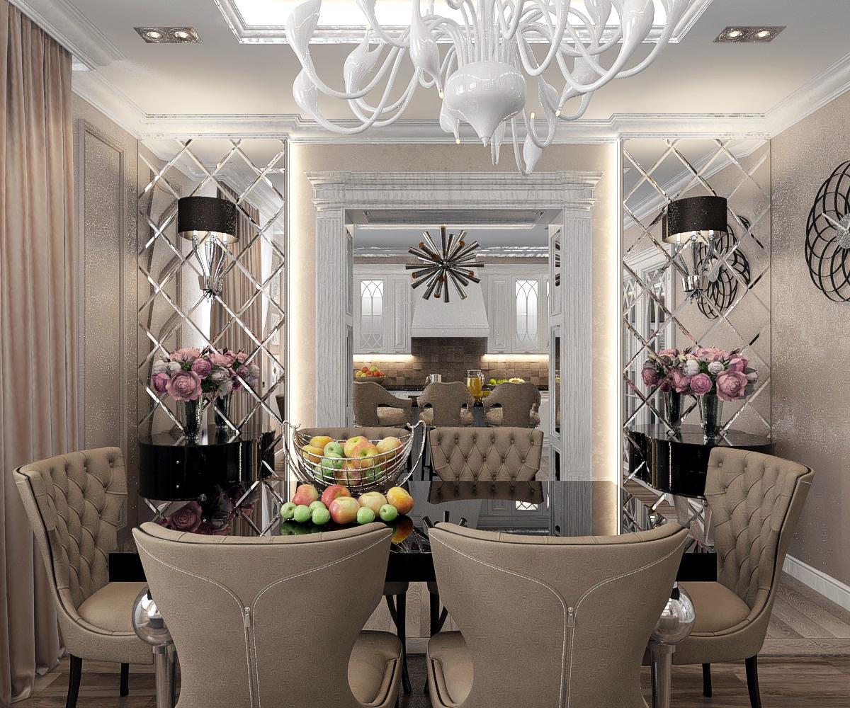 дизайн гостиной в