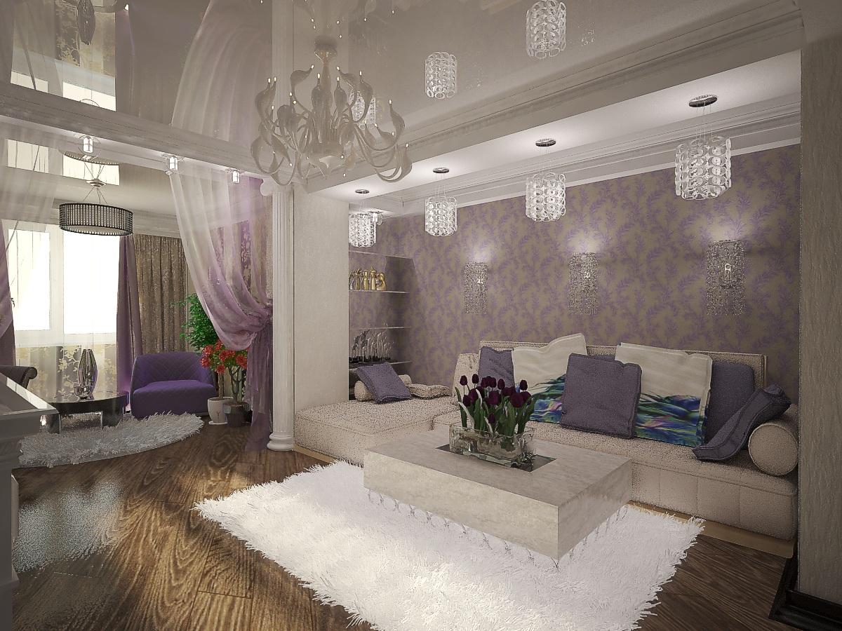 дизайн гостиной 6
