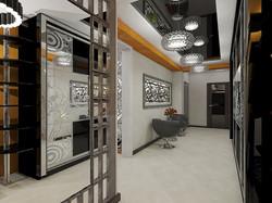 дизайн кухни-гостиной 11