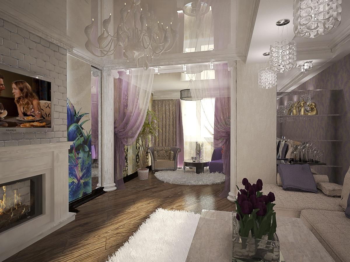 дизайн гостиной 1