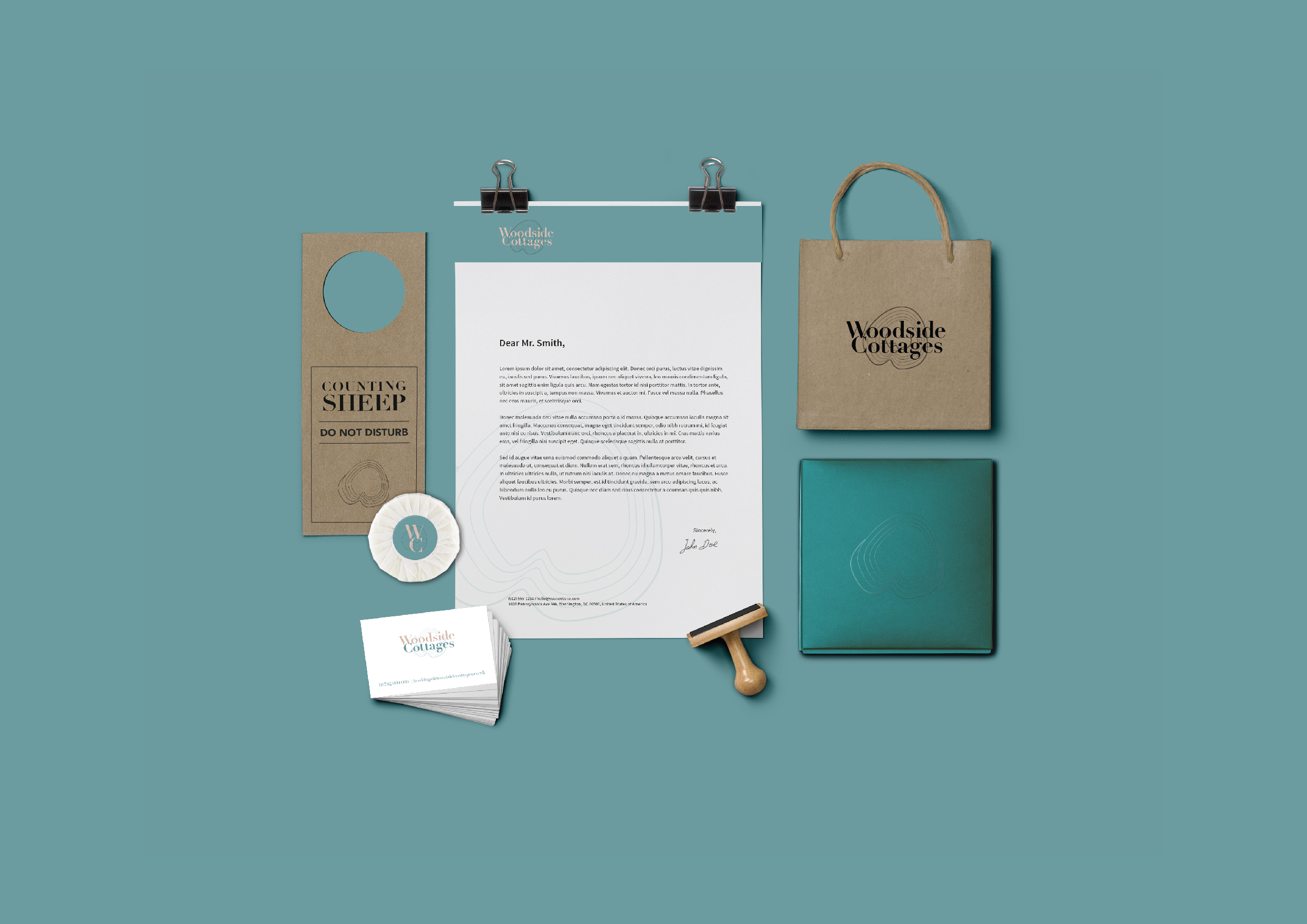 Woodside Cottages Stationary