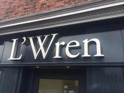 L'Wren Signage