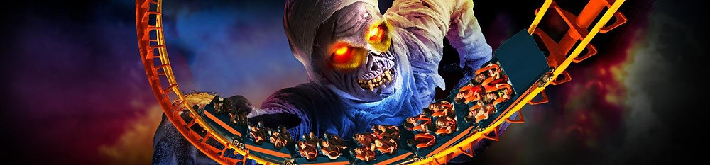 Fright Fest at Six Flags Magic Mountain Halloween events in LA