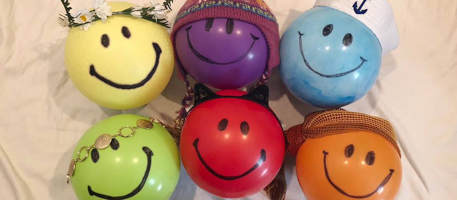 IT TAKES BALLS – The Joy Journey