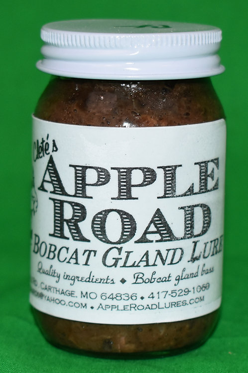 Apple Road Bobcat Gland Lure - 4 Ounces