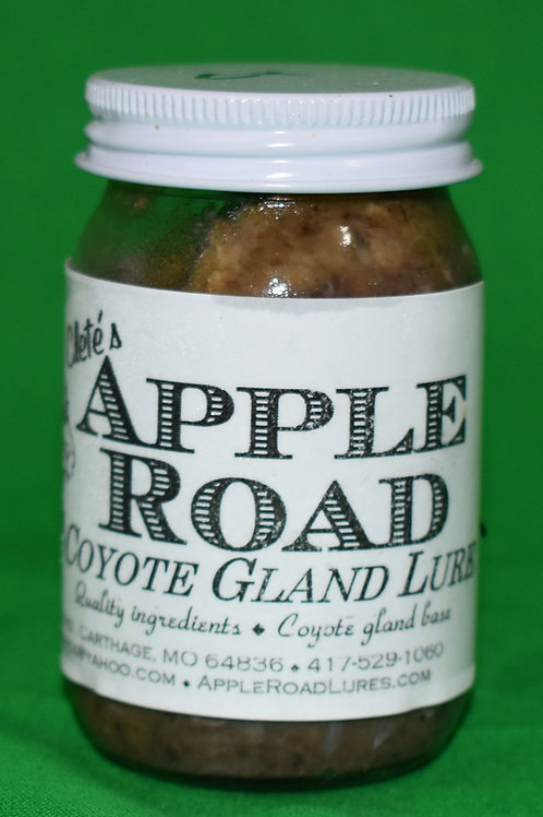 Apple Road Coyote Gland Lure - 4 Ounces