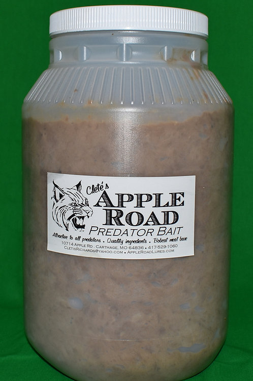 Apple Road Bobcat Meat Bait