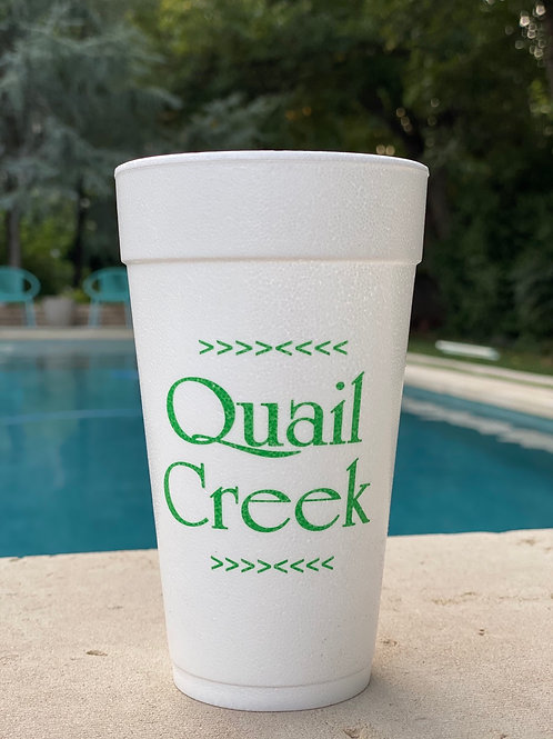 Styrofoam Cups (12 Count)