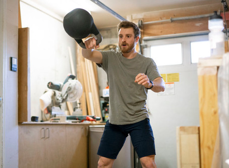 Kettlebell Telephysio with Pro Athlete, Jesse Melamed