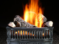 Coal Basket with Logs